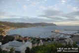 Balcony view over the navy harbour