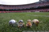 NFL Huddles: Oakland Raiders at San Francisco 49ers at Candlestick Park