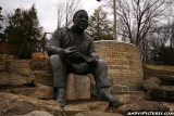 Alex Haley statue in Knoxville, TN