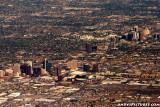 Aerial of Phoenix, AZ