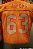Lee Roy Selmon jersey at the Tampa Bay History Center
