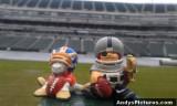 NFL Huddles: Denver Broncos at Oakland Raiders at the Oakland Coliseum