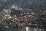Aerial of Stanford - Palo Alto, CA
