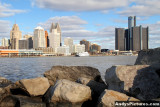 Downtown Detroit from Winsor, Canada
