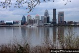 Downtown Louisville from the Indiana side of the Ohio River