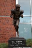 Tim Tebow statue in front of Ben Hill Griffin Stadium- Gainesville, FL