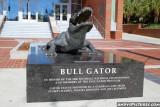 Bull Gator statue in front of Ben Hill Griffin Stadium- Gainesville, FL