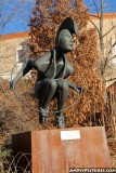 Sculpture outside of the State Capital - Santa Fe, NM