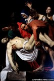 The Entombment of Christ (1602–1603) by Michelangelo Merisi da Caravaggio