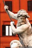 Bernini's Fountain of Neptune - Piazza Navona