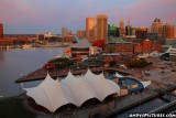 Downtown Baltimore from the Marriott