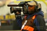 CBS cameraman Larry Frazier