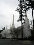 Mormon Temple in Portland, Oregon