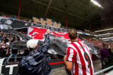 Great atmosphere in the Philips Stadium