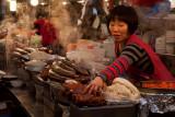 Seoul food stalls