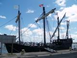 Pinta and Nina replica ships