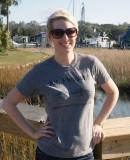 Sarah at Shem Creek
