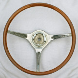 Porsche Carrera 2 Teak Steering Wheel