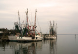 Shem Creek shrimping boats