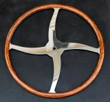 Early Indy Racer 17 with Highly Figured Koa RIm.