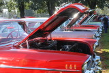 A Row of 1957 Chevrolets