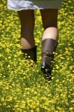 Boots in Buttercups