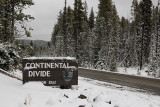 continental divide...