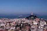 Coit Tower & Alcatraz