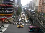Zhongxiao Road and Fuxing Road