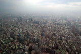 Taipei from the top of the 101