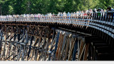 Kinsol Trestle - The Official Opening held today at 11:00 am