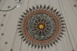 Detail of the dome inside the Rustum Pashe Mosque, Istanbul