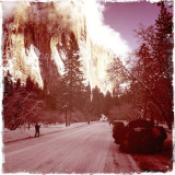 Another Take of El Cap with the help of the Hipstamatic App