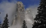 Clearing Storm Over a Yosemite Spire