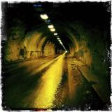 Peering Inside the Wawona Tunnel - Hipstmatic