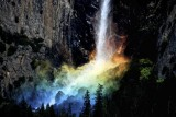 Rainbow At Bridalveil Fall, Yosemite National Park