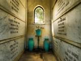 A Family Crypt in the Garden of Memories Cemetery, Salinas