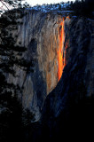 Yosemite's Natural Fire Fall