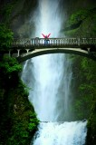 At Multnomah Fall, Columbia River Gorge