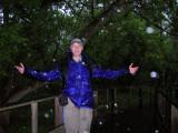 20 mph wind and heavy rain......Let's Go Birding