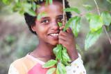 Girl, Debresena Church forest
