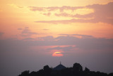 Sunset, Debresena Church Forest