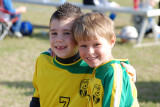 Brooks and Carter's Soccer game