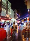 Wet Wontons in Chinatown