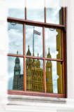 A reflection of Parlament - London