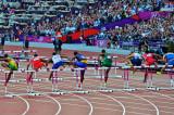 Mens 110 meters Hurdles Semi Finals.