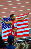 Allyson Felix Gold Medal Winner.