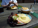 Ploughman's Lunch, Royal Oak, Fritham