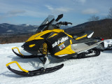 Snowmobiling, Bear Notch Road, Bartlett