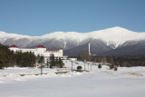 Mount Washington Hotel in the Snow